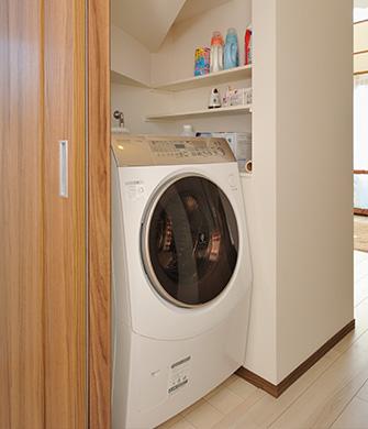 2階洗濯機
